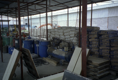Raw Materials for making foamed concrete