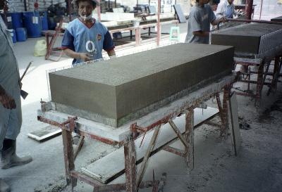 Lightweight Foamed Concrete Block Making Factory