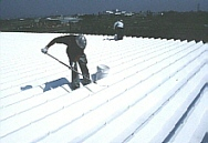 Thermal Insulation Coatings for roofs, walls and buildings in hot countries