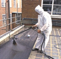 Spray application of EABASSOC Spraytec