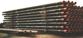 Steel tubes can be protected from rust using Waxproof.